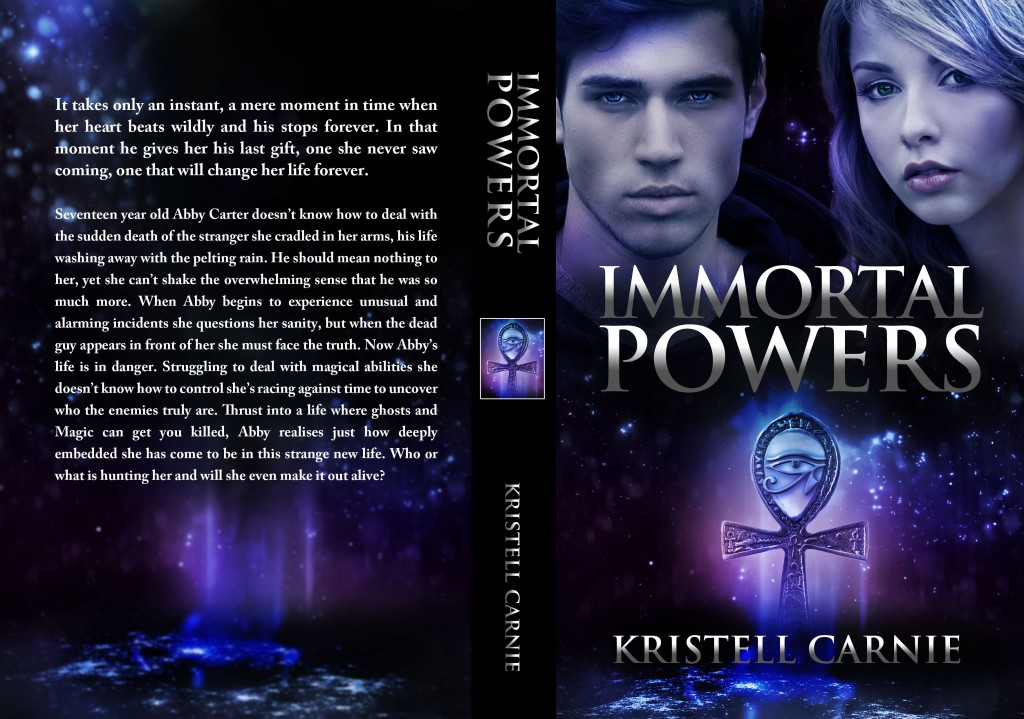 Immortal Powers paperback cover